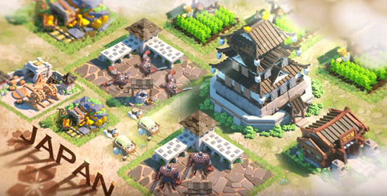 Building trong game Rise Of Civilizations