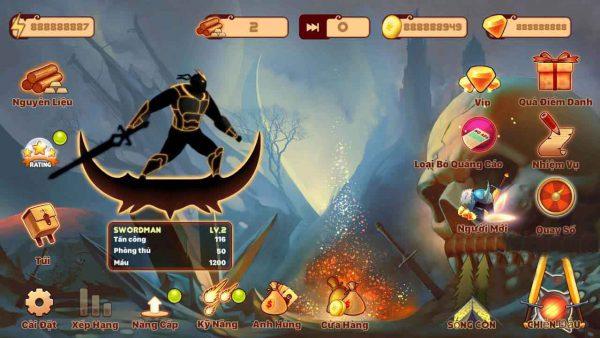 Stickman Ninja Legends Warrior mod