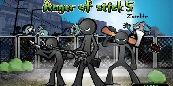 Tải Anger of stick 5: zombie MOD APK V1.1.35 full Vàng/Kim cương