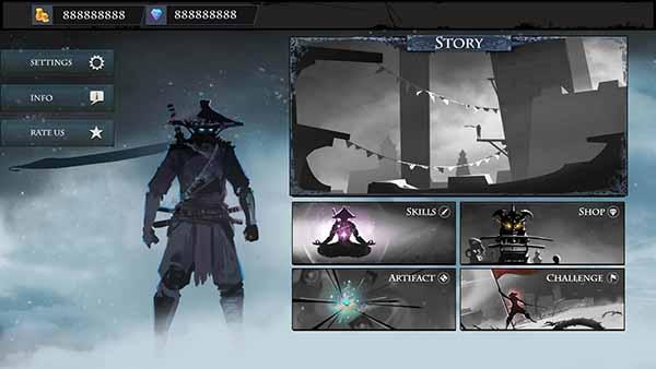 Tải Ninja Arashi 2 mod tiền và kim cương cho Android